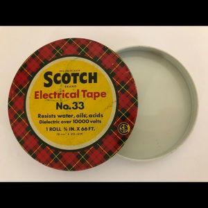 Vintage Scotch Tape collector tin RARE